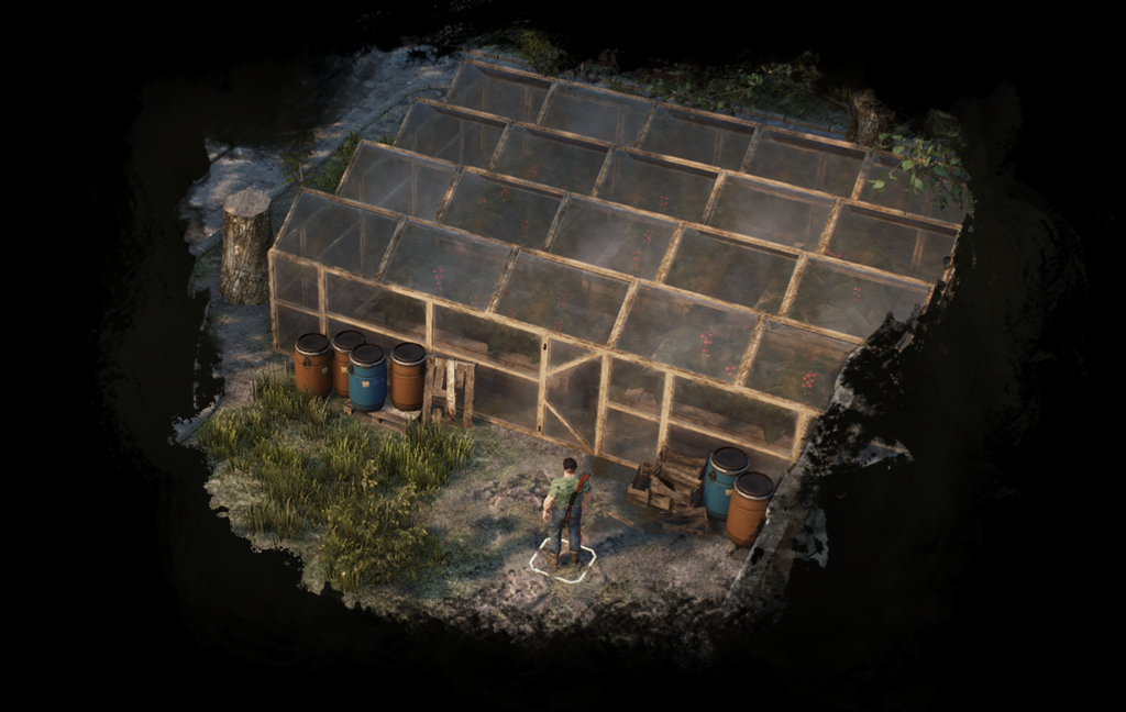 Fix your shelter, build new facilities, craft new survival items